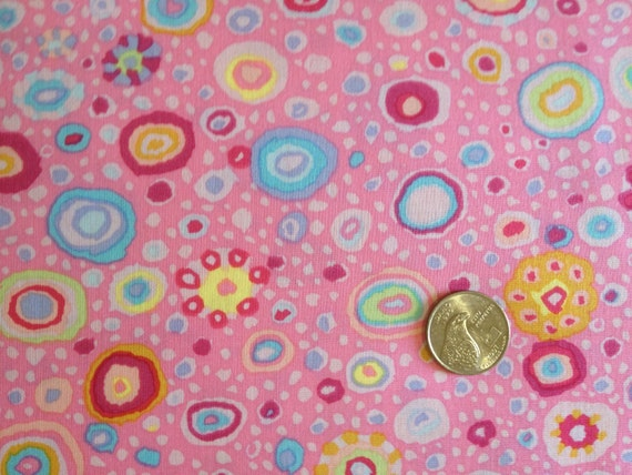 ROMAN GLASS PINK Kaffe Fassett Sold in 1/2 yard increments