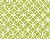 FLANNEL Lime Green Circles Cozy Cotton, from Robert Kaufman