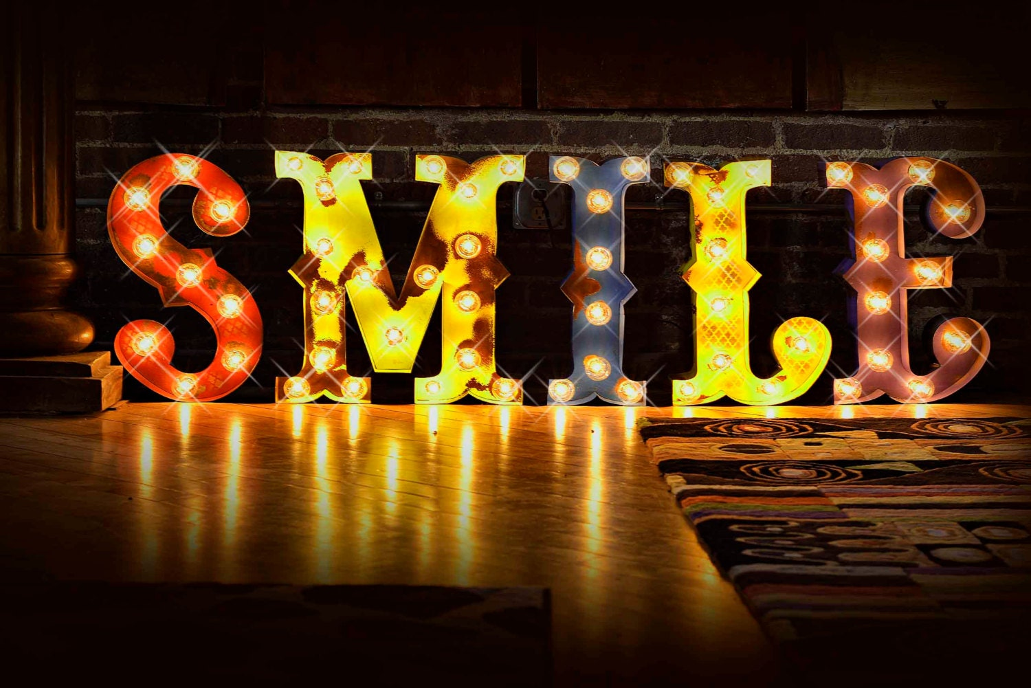 Marquee letter marquee light carnival letter photo booth