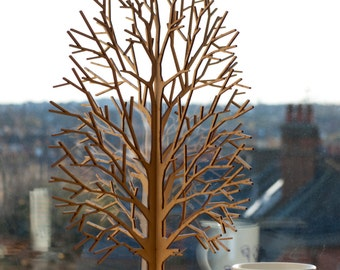 Lasercut Wooden Tabletop Tree #3