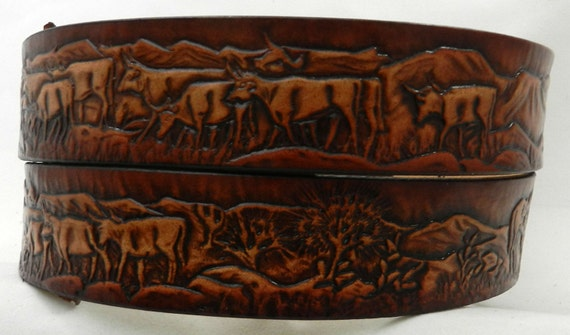 name belt cattle drive nbt106 includes name in center