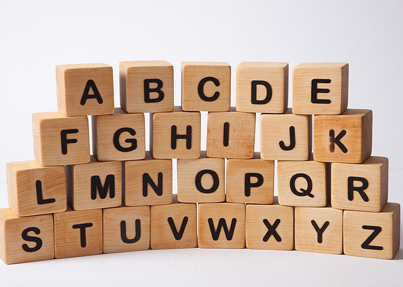 alphabet blocks blocks with letters wooden building blocks With wooden building blocks with letters