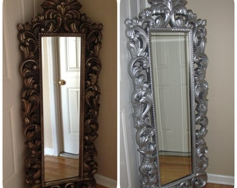 Full length wall mirror deals on 1001 blocks for Decorative floor length mirrors
