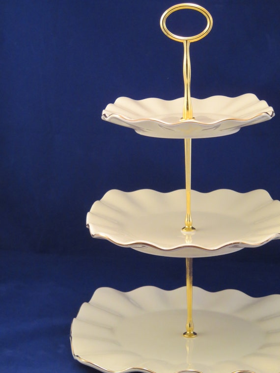Tiered Tea Stand 3 Tier Plate Stand Cake Stand Tiered