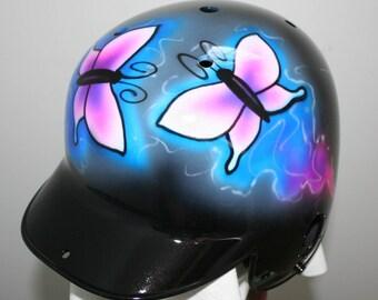 airbrush softball helmet