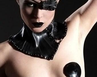 Simple latex nipple pasties