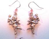Cupid's Arrow Beaded Earrings