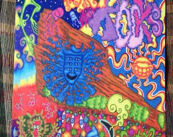 Shpongle Red Rocks 2014 Poster 11-17in with Matching Sticker