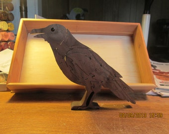 The Raven Wooden Puzzle