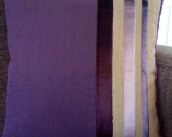 Purple Stripes Cushion