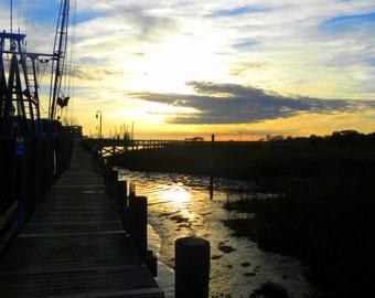 Dockside at Shem Creek, SC