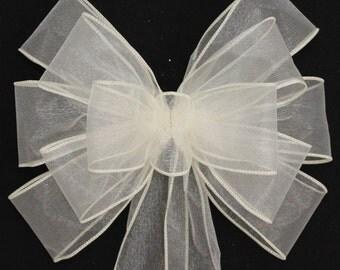 Wedding pew bows | Etsy