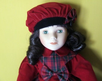Porcelain doll collection from the promenade collection CHARLOTTE