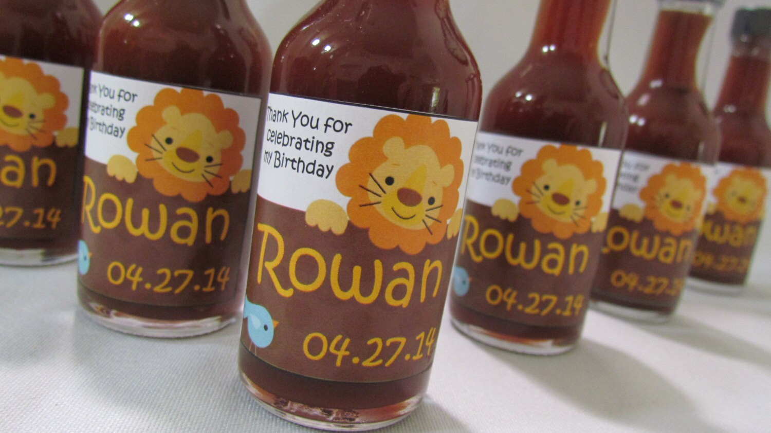 Lion King Baby Shower Favors