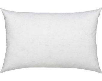 """16x30"""" Pillow Insert, Pillow Form, Rectangle Pillow, Lumbar Pillow, Inside Pillow, Indoor, Outdoor Pillow."""