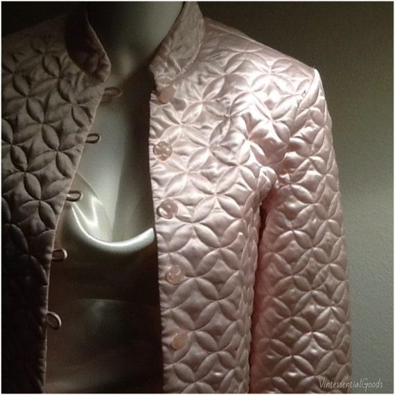 Pink Bed Jacket Oscar De La Renta Pink Robe Wedding