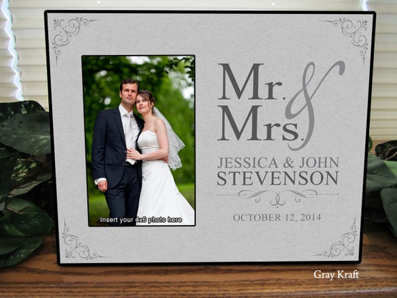 Wedding Gift Frame: Mr And Mrs Wedding Gift Mr And Mrs Gift Mr And Mrs By