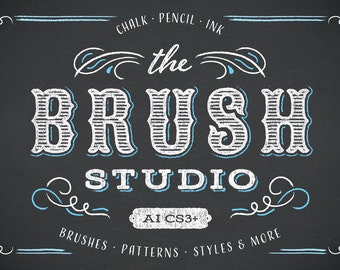 The Brush Studio - Illustrator Brushes, Swatches, Patterns, and Ornaments