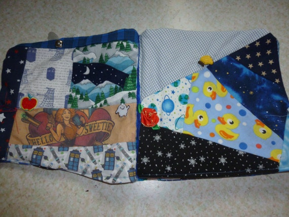 Doctor who cloth busy book i spy busy book outer by for Space themed material