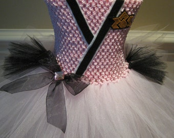 Inspired by the Power Ranger Tutu Dress Costume, Pink Power Ranger or Pick another color!