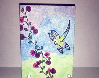 ACEO  Art Card- Dragonfly