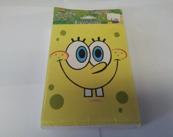 sponge bob invitations