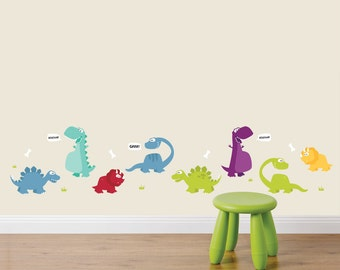 Dinosaurs Fabric Wall Stickers/Wall Decals