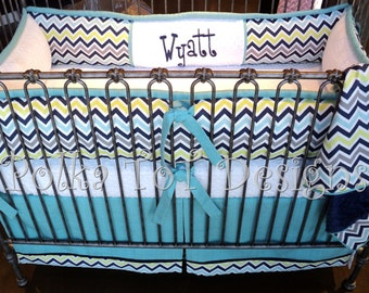 "4 Piece Crib Set ""Wyatt"""
