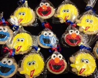 Sesame Street Cookie 12 pcs.