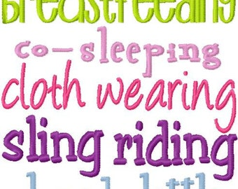 Baby Girl Embroidery Design I'm a Breastfeeding Girl Digital Instant Download 5x7 ONLY