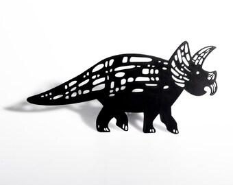 Triceratops Shadow Puppet - Laser Cut Dinosaur