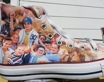 The Sandlot Custom Converse All Stars