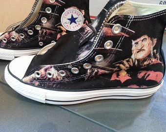 Freddy Krueger Custom Converse All Stars