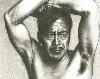 Toshiro Mifune (Original Pencil Drawing)