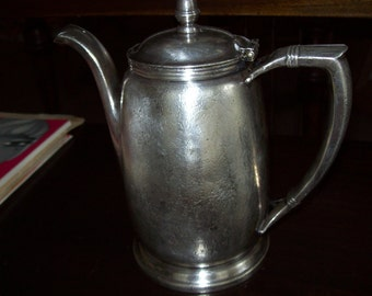 Coffee pot, hotel International Silver  vintage - great condition, 24ounce