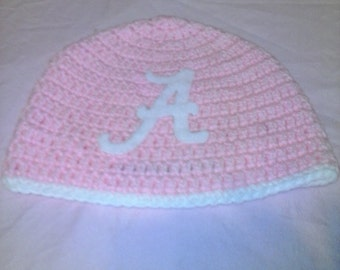 Crochet Alabama hat, child size