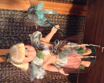 """Nice & Natural Fairy Doll Ensemble - Handcrafted for 18"""" Doll"""