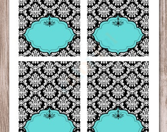 INSTANT DOWNLOAD-Breakfast at Tiffany's Labels-Food Labels-Buffet Labels-Tent Cards-Place Cards (#241)
