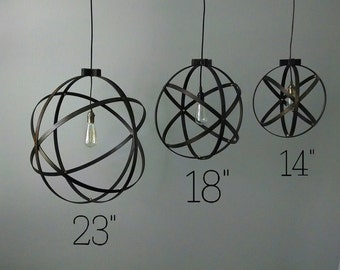 modern entryway lighting. simple lighting 18 inch modern spherical light entryway chandelier industrial home  decor intended lighting