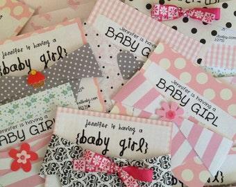 Baby Diaper Invitations/Announcements
