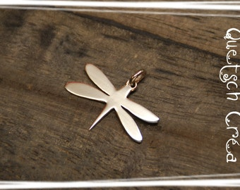 "Silver Pendant 925 ""pretty Dragonfly"""