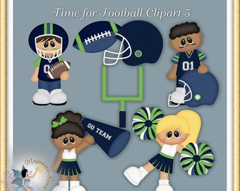 Time for Football Clipart 5