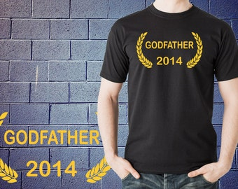 Godfather Best GodFather Award Winner T Shirt Gift Funny  T-shirt Gift for Baptism Tee