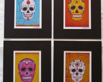 Day of the Dead Fine Art Matted Prints