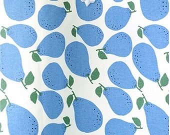 Oxford Cotton Fabric Pear Sky By The Yard