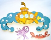 Baby clothes hanger - Yellow Submarine best gift for kids baby children newborn him her