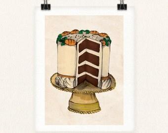 Carrot Cake 8x10 Print