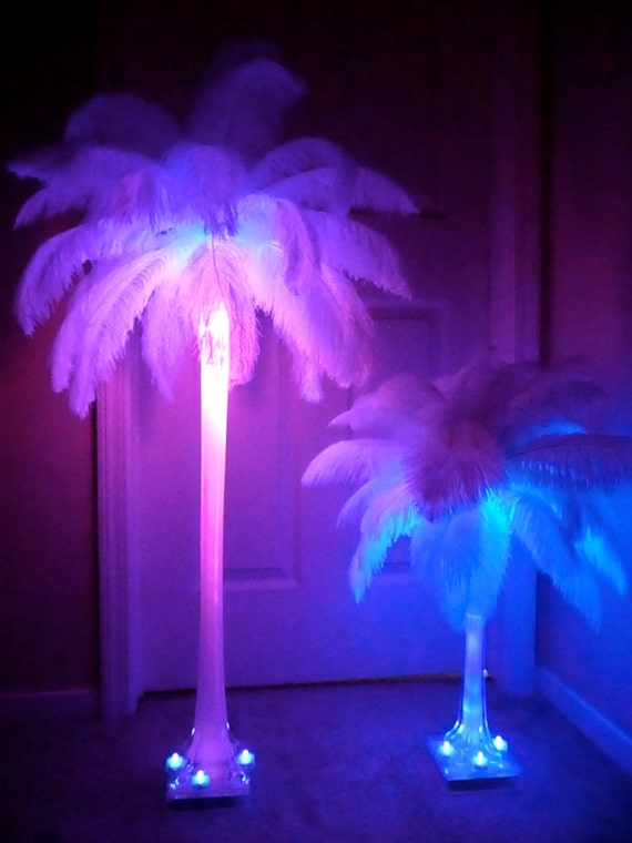 36 Ostrich Feather Centerpiece 36 Inch By Cheek2cheekboutique