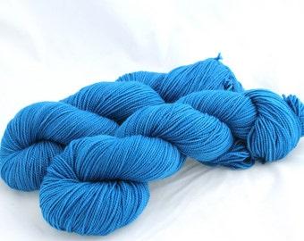Oceanography - Dissertation, Hand Dyed Superwash Merino Sock Yarn