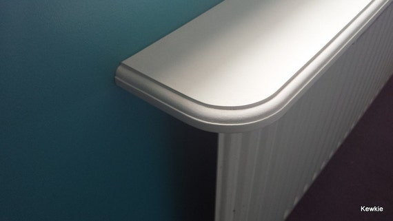 Made To Order Radiator Shelf With Brackets In A Primer Coat